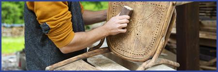 Restoring Wooden Chair